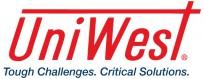 UniWest logo + tag